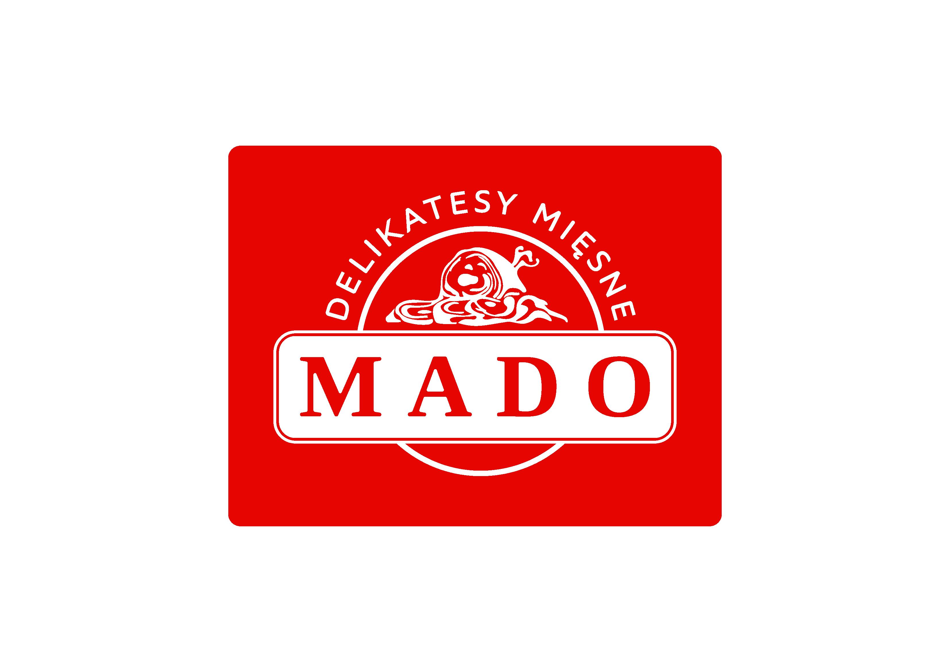 Delikatesy Mado logo czerwone