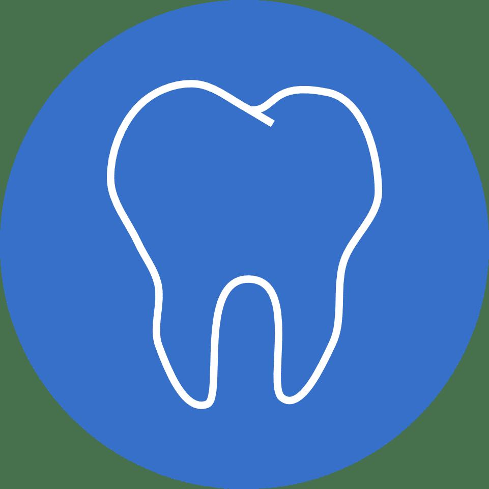 Dental-Cresco logo niebieskie