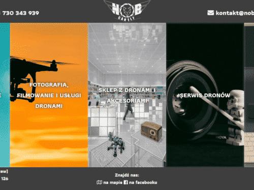NOB Can Fly drony i akcesoria